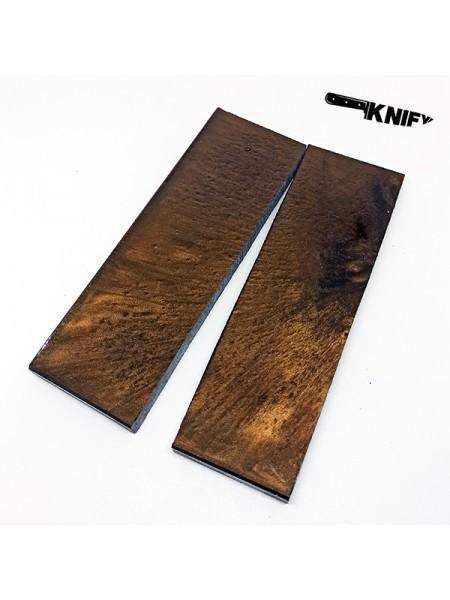 Накладки акрил коричневый (130х40х8 мм)
