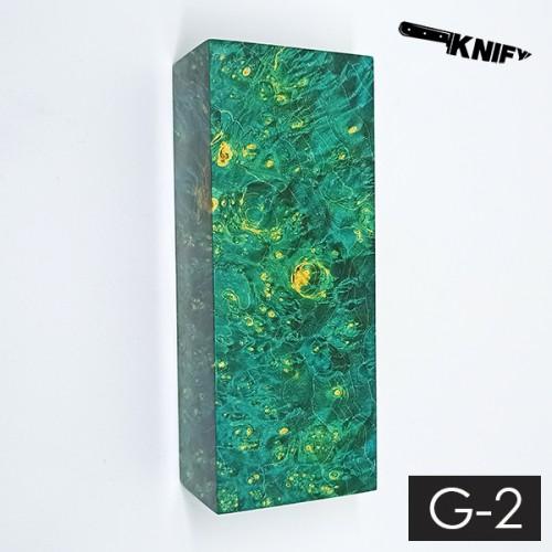Кап клена стаб. зеленый 35х45х120 мм (G-2)