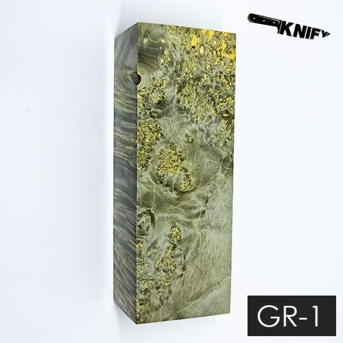 Кап клена стаб. серый 35х45х120 мм (GR-1)