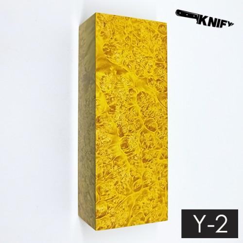 Кап клена стаб. желтый 35х45х120 мм (Y-2)