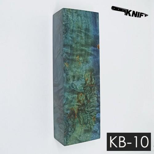 Карельская береза стаб. 30х40х125 мм (KB-10)