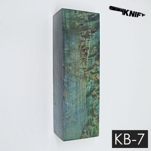 Карельская береза стаб. 31х41х125 мм (KB-7)