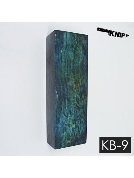 Карельская береза стаб. 29х42х125 мм (KB-9)