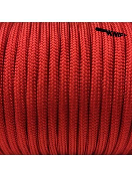 Паракорд 4 мм (красный), метр