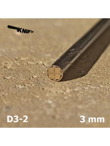 Пин 3 мм декор (мод. D3-2)