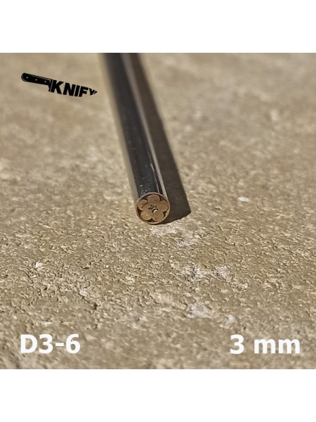 Пин 3 мм декор (мод. D3-6)