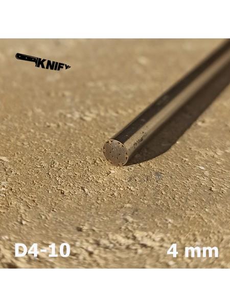 Пин 4 мм декор (мод. D4-10)