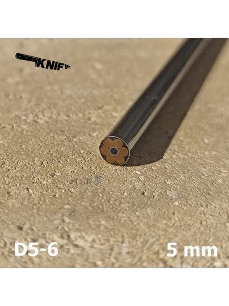 Пин 5 мм декор  (мод. D5-6)