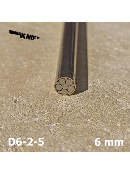 Пин 6 мм декор (мод. D6-2-5)