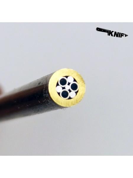 Пин 6 мм декор (мод. D6-4 1)