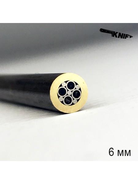 Пин 6 мм декор (мод. D6-4)