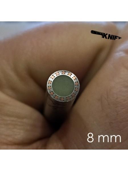 Пин 8 мм декор (мод. D8-5L)