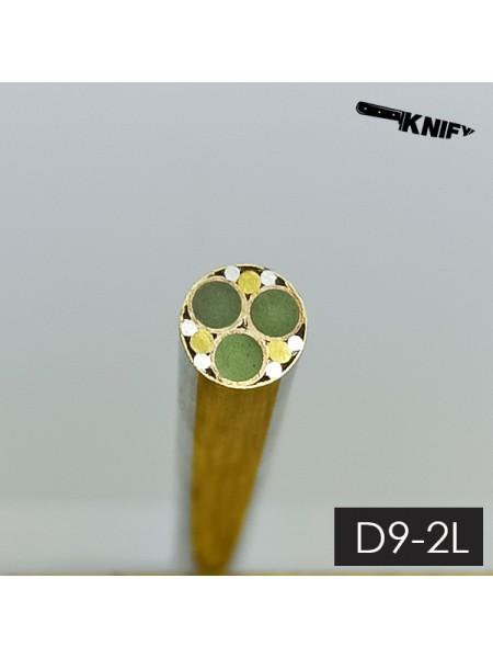 Пин 9 мм (мод. D9-2L) люминофор
