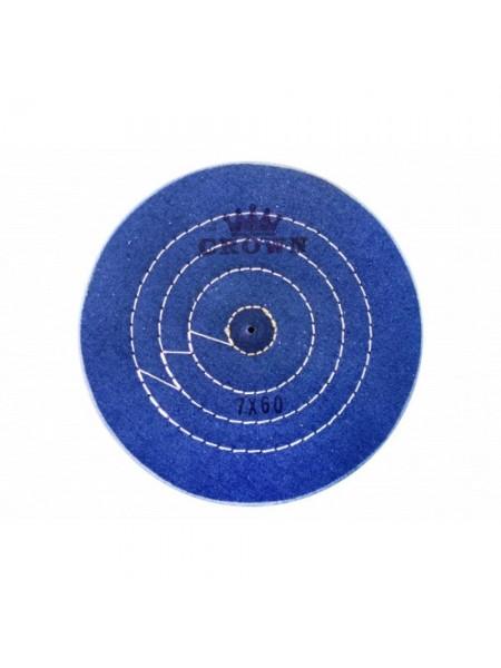 Круг муслиновый синий, 150 мм