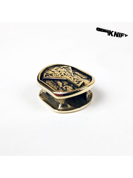 Бусина для браслета (мод. 2), бронза