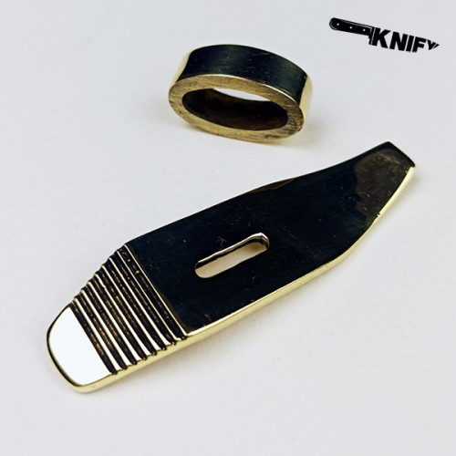 Гарда для ножа НР-40, бронза