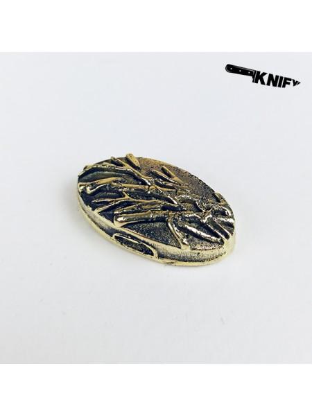 Тыльник для вакидзаси (бронза)