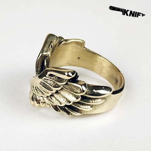 """Перстень """"Крылья"""", бронза"""