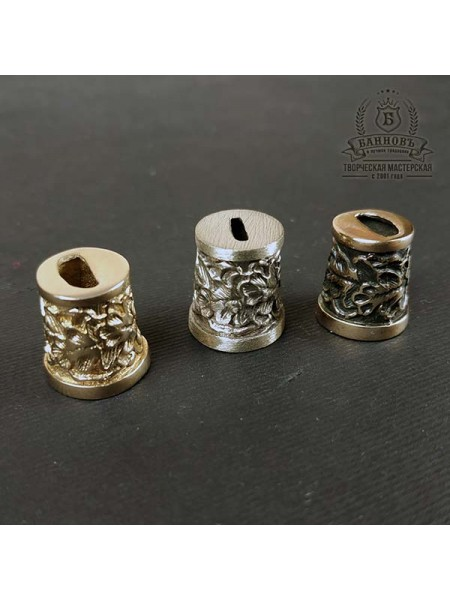 Оковка малая (ложка/вилка) бронза/нейзильбер